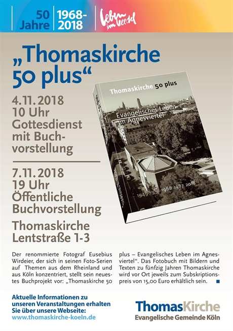"Buch: ""Thomaskirche 50 plus"""